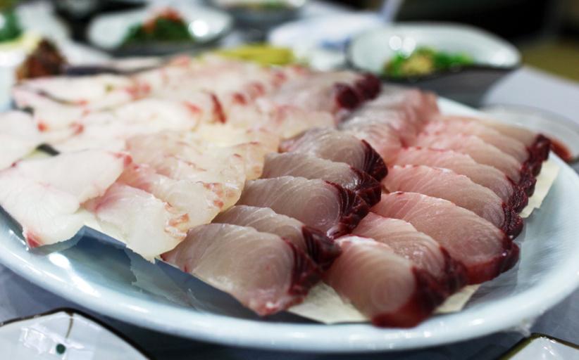 생선의 풍미와 맛 선어